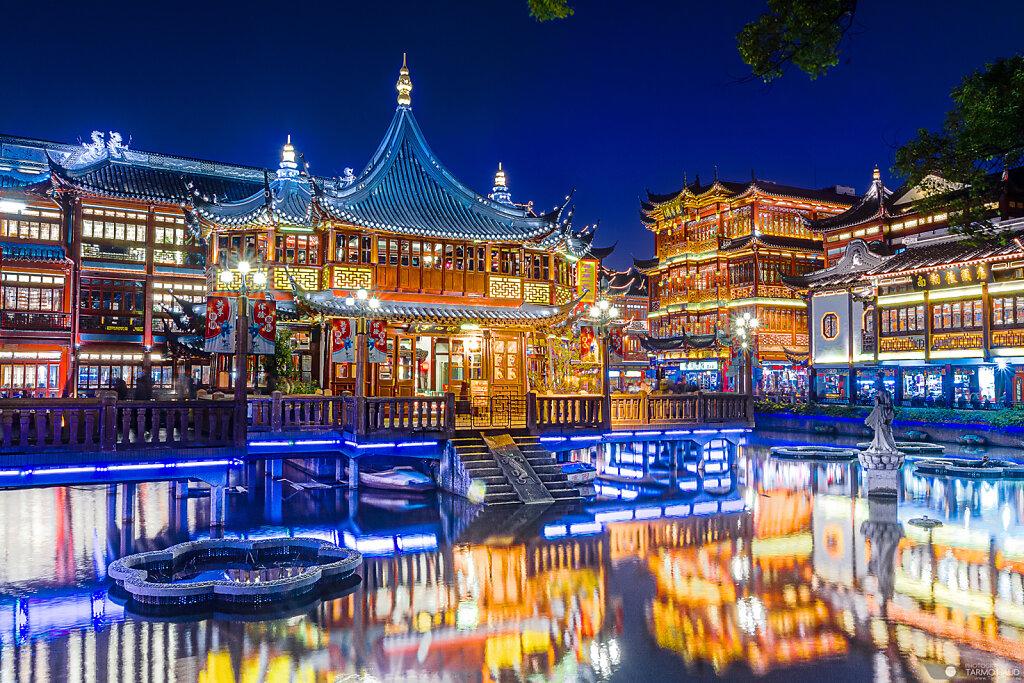 Yu Garden in Shanghai