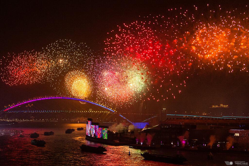 EXPO2010 opening ceremony fireworks