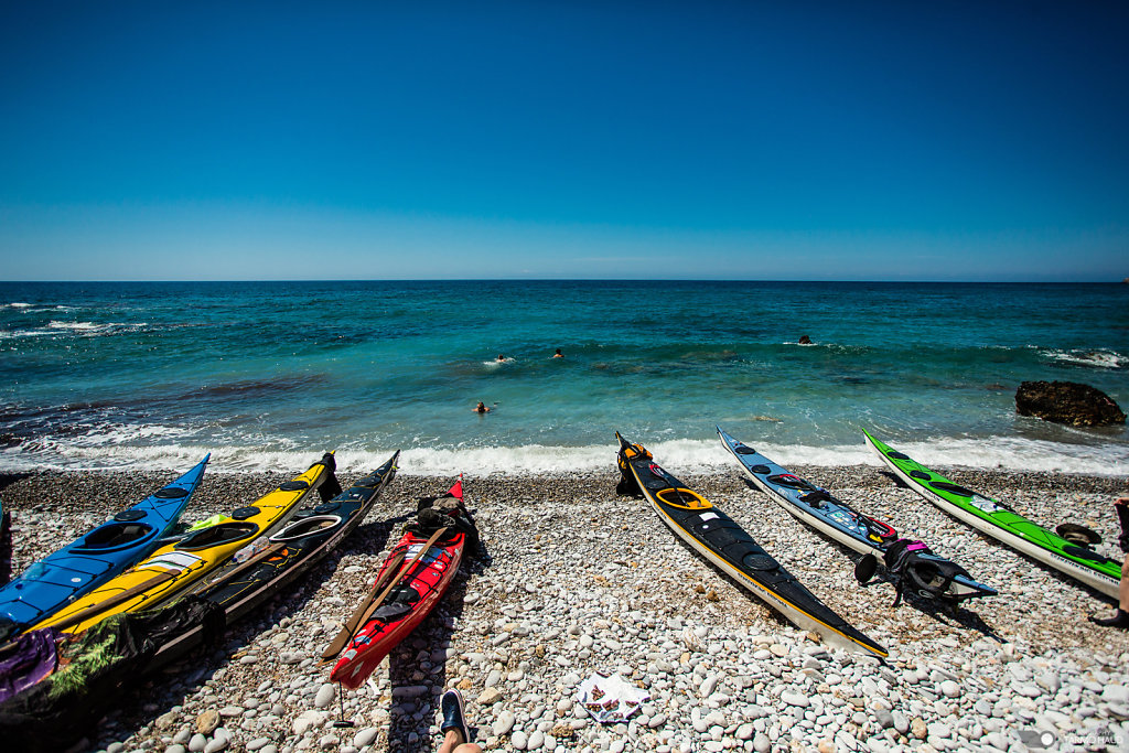Kayaking in Crete