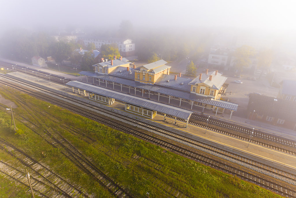 Tartu train station