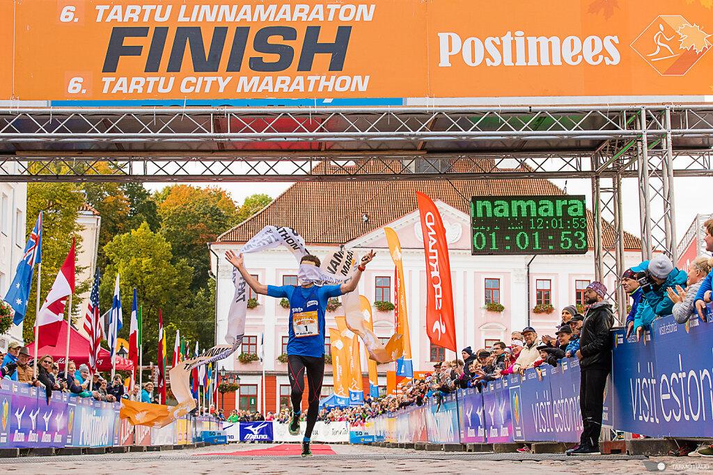 Raivo Alla - nüüd kahekordne Tartu Linnamaratoni võitja