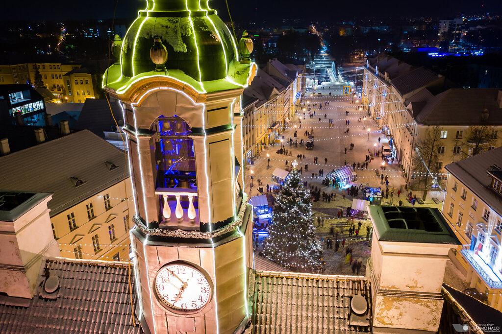 1. advent Tartu Raekoja platsil